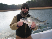 Striper Fishing on Lake Allatoona