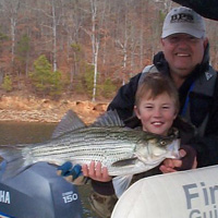 Allatoona Striper Fishing Guide